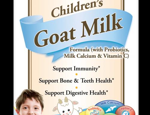 Children's Goat Milk Formula (with Probiotics, Milk Calcium & Vitamin C)