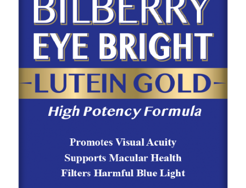 Bilberry Eye Bright Lutein Gold